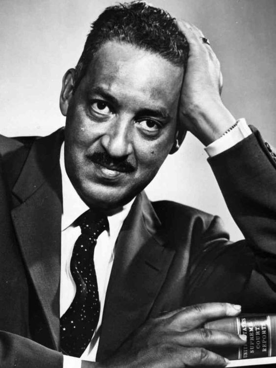 Thurgood Marshall became the first African American ...