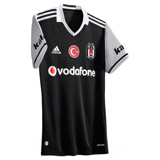 Thai Maillot de foot Besiktas Exterieur 2016/2017: