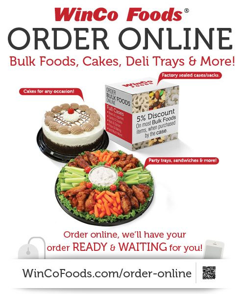 Smart Shopper Tip: Order Online At WinCo Foods! Available