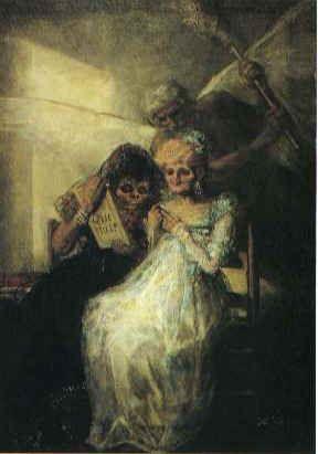 Les Vieilles de Goya