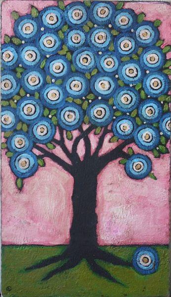 http://thetroddenpath.ning.com/group/ten-textures-a-folk-art-tree