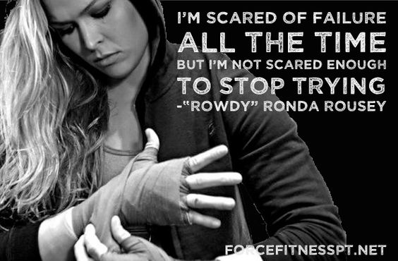 Ronda Rousey, Quotes, MMA, UFC, Fitness, Gym Motivation, Inspiration, Courage…