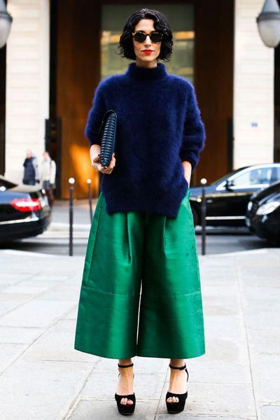 Les plus beaux looks du public de la Fashion Week de Paris
