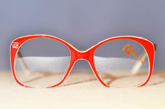 vintage designer eyewear frames Gheradini 272 $132