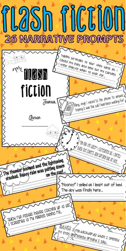 30 Flash Fiction Prompts