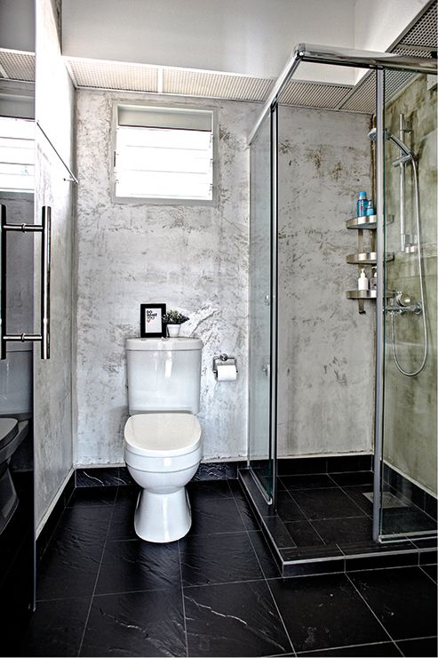 Home the o 39 jays and products on pinterest for Wet area bathroom ideas