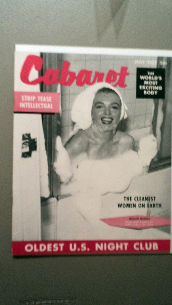 CABARET 1955  MARILYN MONROE