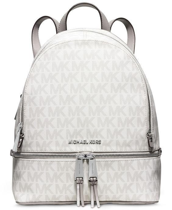MICHAEL Michael Kors Rhea Small Backpack - Handbags \u0026amp; Accessories - Macy\u0026#39;s