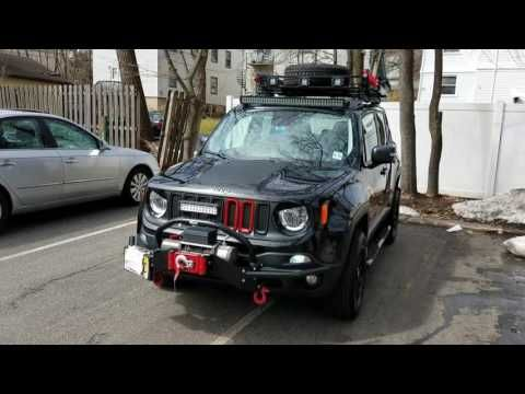 Jeep Renegade Mods Youtube Jeep Renegade Trailhawk Jeep