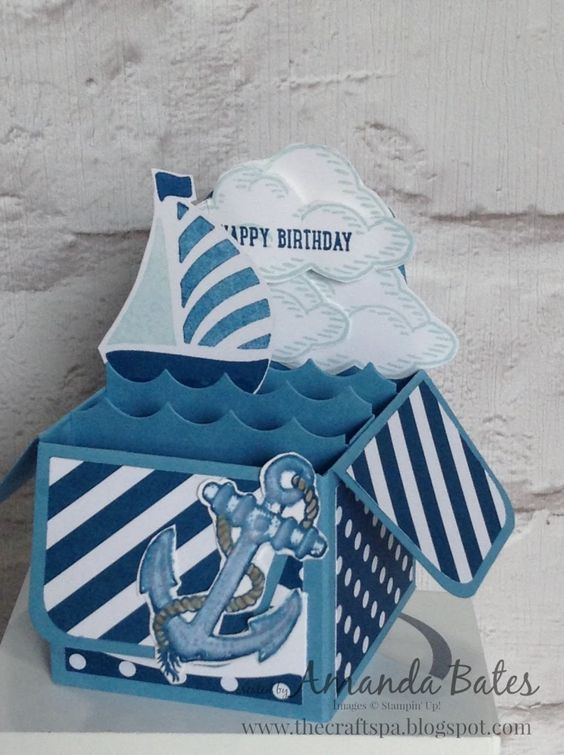 The Craft Spa - Stampin' Up! UK independent demonstrator : Stampers Showcase - Dapper Denim and The Sea!