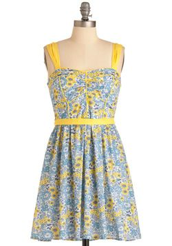 Blueberry Lemonade Dress, #ModCloth