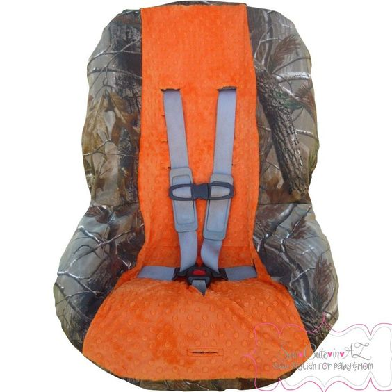 Toddler Car Seat Cover Camo With Orange Cars Toddler