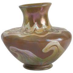 Tiffany Studios New York Favrile Glass Vase
