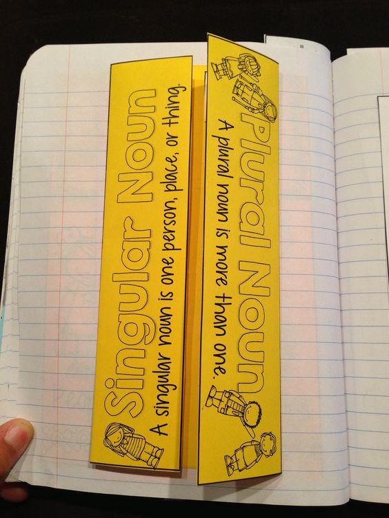 math worksheet : plural nouns grammar notebook and grammar on pinterest : Singular And Plural Nouns 6th Grade