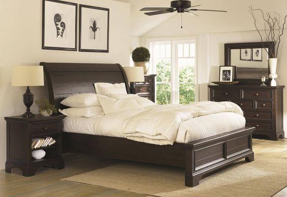 Bayfield Sleigh King Bedroom Group GP:B512