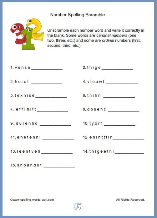 Exclusive spelling practice worksheets information