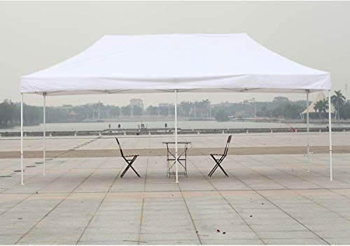 New American Phoenix Canopy Tent 10x20 Easy Pop Up Instant Portable Event Commercial Fair Shelter Wedding Party Tent White 10x20 Furniture 173 Canopy Tent