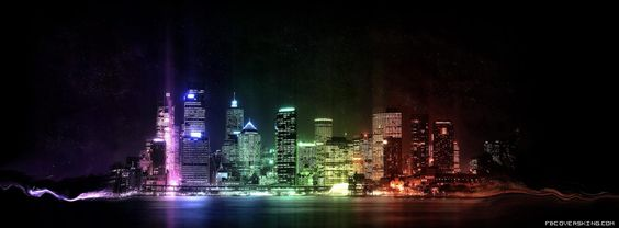 Colourful City City Wallpaper Rainbow City Cool Backgrounds