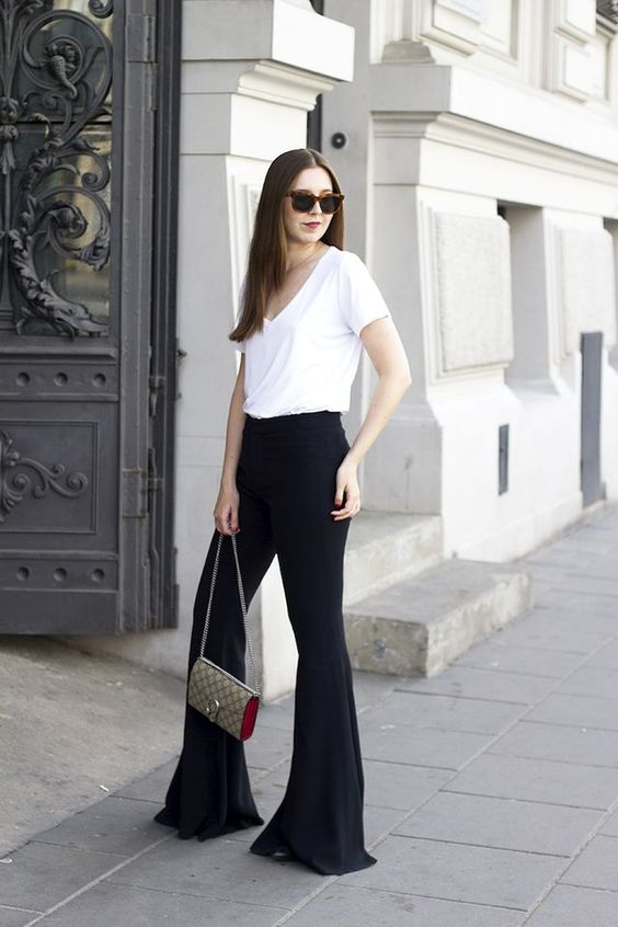 5 Bloggers Show How To Style Flared Pants: