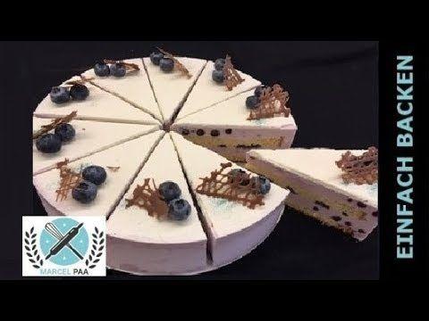 Herrliche Heidelbeeren Joghurt Torte Rezept I Einfach Backen Marcel Paa Youtube Mit Bildern Joghurttorte Kuchen Und Torten Torten