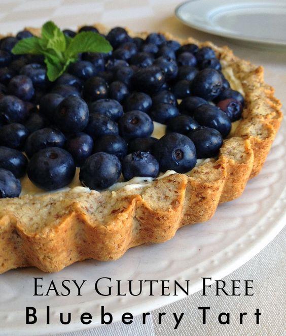 cream gluten free blueberry tart recipes cream cheese filling tarts ...
