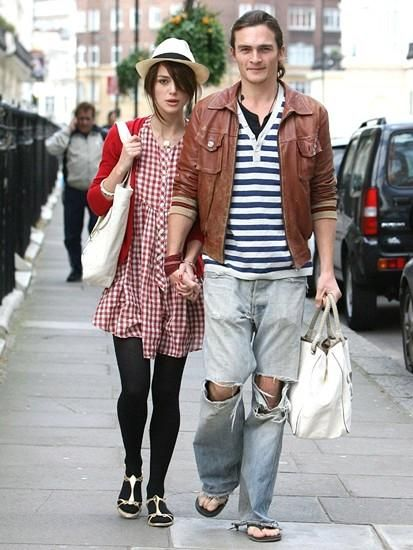 Keira and Rupert such a cute couple, so sad they broke up
