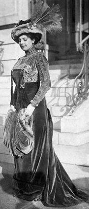 Mata Hari - 1908 - Longchamp Racing Paris