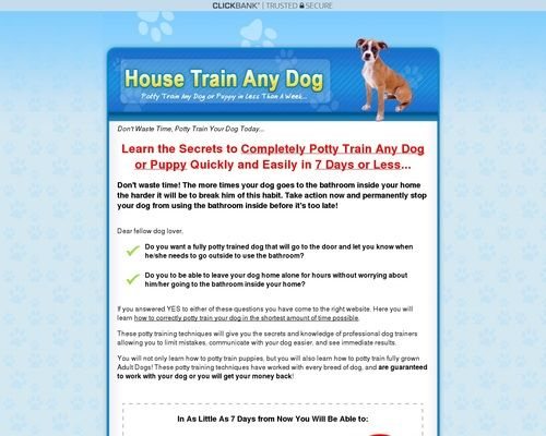 How To Housetrain Potty Train Any Dog Home Garden Potty