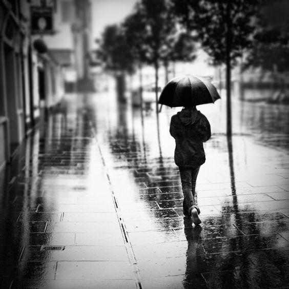 Las calle mojadas.