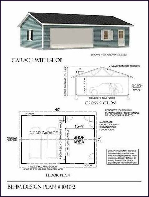 Searching For Some Ideas For Your Woodworking Shop These Workshops Vary From Little To Big All Of Them Filled Wi Garage Shop Plans Garage Plans Garage Design