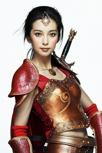 Li Bingbing, Steampunk with an Asian flare... or Asia with a steampunk flare... either way it's cool.