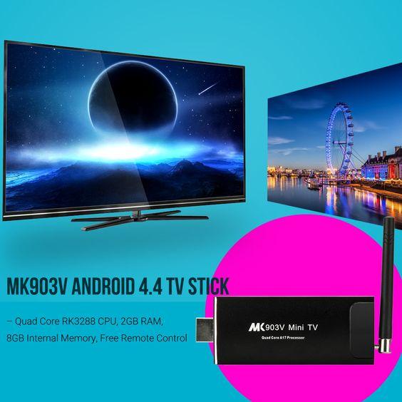 MK903V Android 4.4 TV Stick