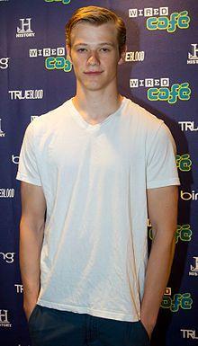 Lucas Till at the San Diego International Comic Con