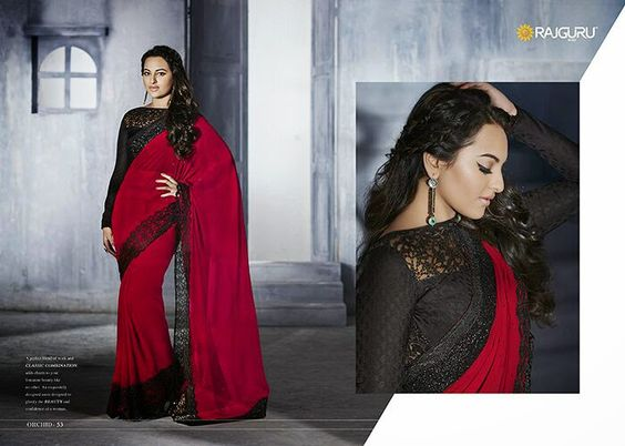 saree - sonakshi sinha in saree