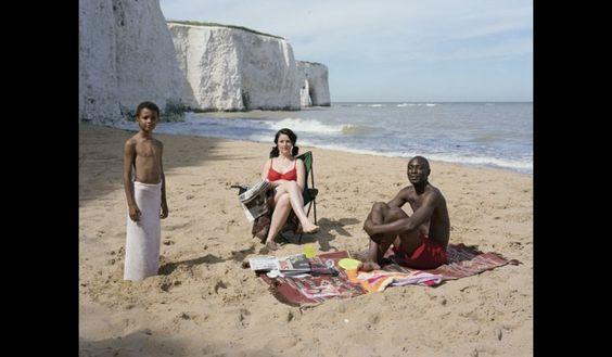 Konzeptuelle Fotografie: Trish Morrissey's beach shot