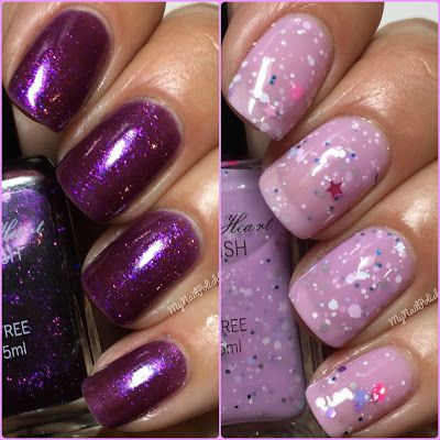 My Nail Polish Obsession: Sweet Heart Polish Love Potion & Frosted Sugar Coo...