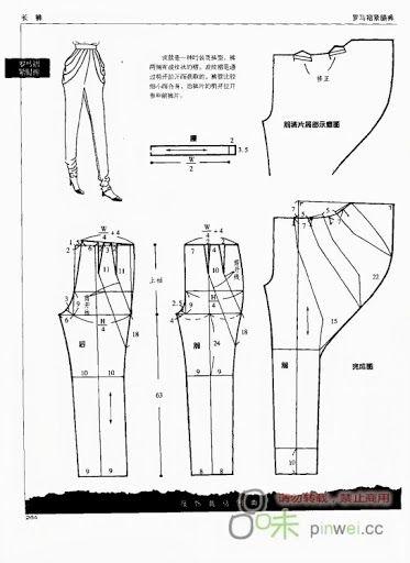 molde pantalonnn :)