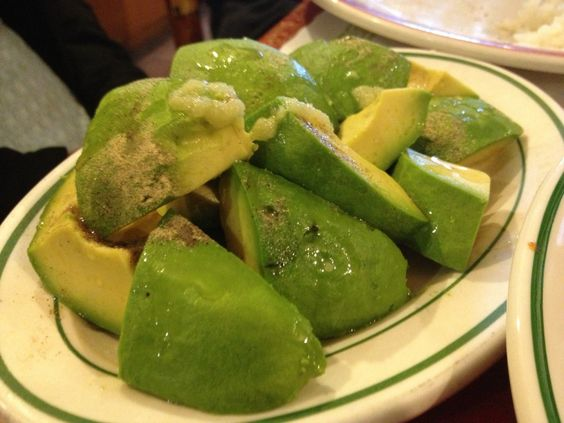 Aguacate salad is an example of Rincon Criollo's style: simple dishes executed really well. Slices of fresh avocado are piled high, and dressed only with garlic, olive oil, and vinegar.