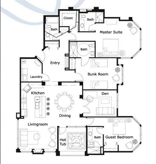 Ski Lodge House Plans Ski Lodge House Plans Floor Plans