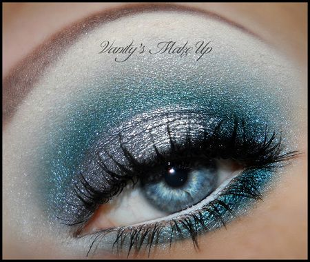 Silver and teal!
