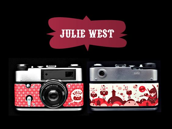 Red Army camera 'SMILE' by Julie West