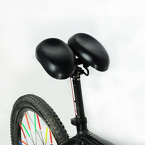 Acacia Bike Saddle Bike Seat Ergonomical Dual Pad Adjustable