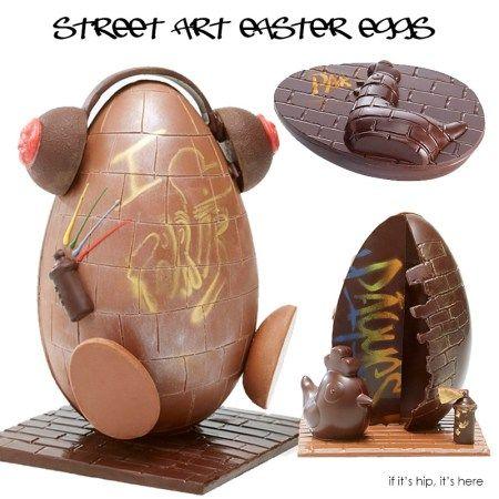 Street art master eggs
