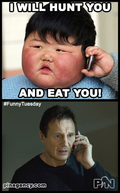 Funny Meme For Tuesday : Funny tuesday meme never make a cute kid feel hungry oh i
