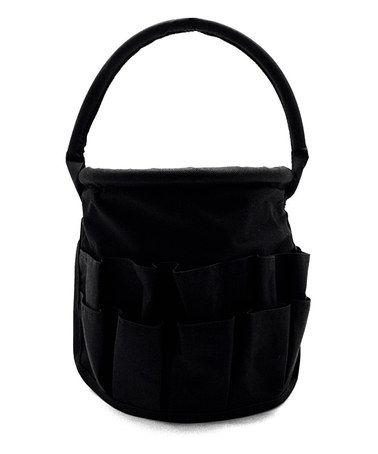 Loving this Black Medium Round Stuff Bucket on #zulily! #zulilyfinds