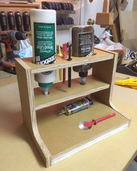 Glue Station - by Jim @ LumberJocks.com ~ woodworking community
