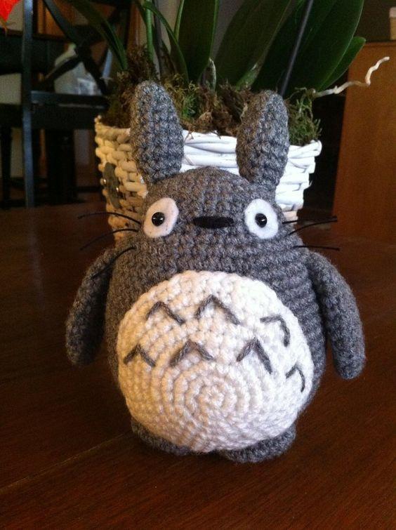 Tuto Amigurumi Totoro Francais : Pinterest Le catalogue didees