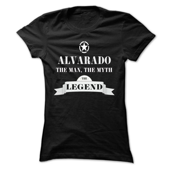 ALVARADO, the woman, the myth, the legend T Shirts, Hoodies. Check price ==► https://www.sunfrog.com/Names/ALVARADO-the-woman-the-myth-the-legend-jyuimhltyt-Ladies.html?41382
