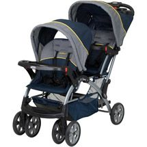 Walmart: Baby Trend - Sit N Stand Double Stroller, Riviera