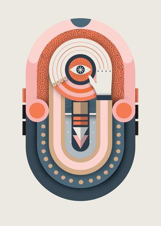 """visualgraphc: """" In Search of Audio Imperfection for Lagom Magazine by Vicki Turner """""""
